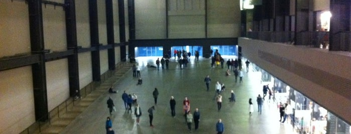 Tate Modern is one of Funky London.