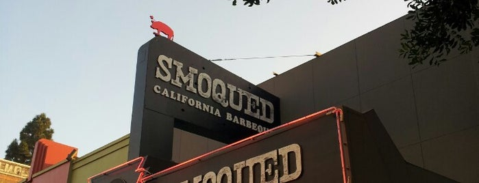 Smoqued BBQ is one of SoCal Spots.