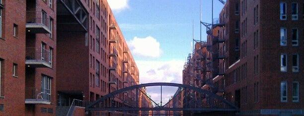 Speicherstadt is one of Hamburg.
