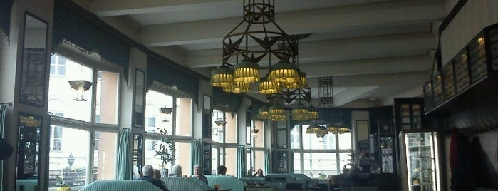 Grand Café Orient is one of Honest Guide – Prague.