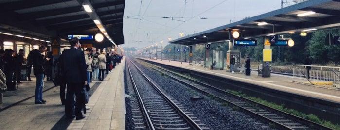 Recklinghausen Hauptbahnhof is one of Bahnhöfe besucht !.