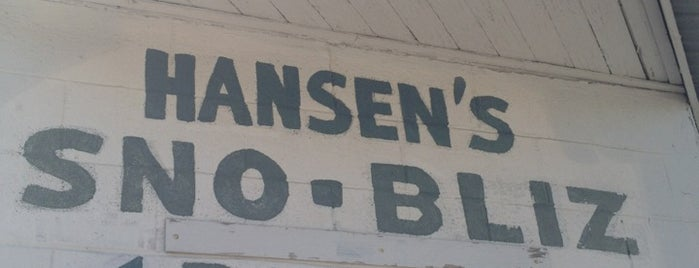 Hansen's Sno-Bliz is one of Where to Eat & Drink in NOLA.
