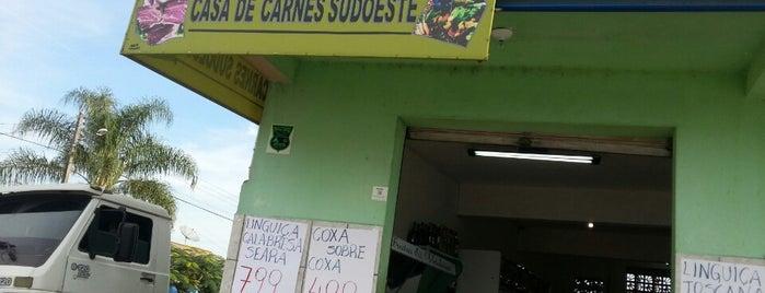 Mercardo Sudoeste is one of Tempat yang Disukai Henrique.