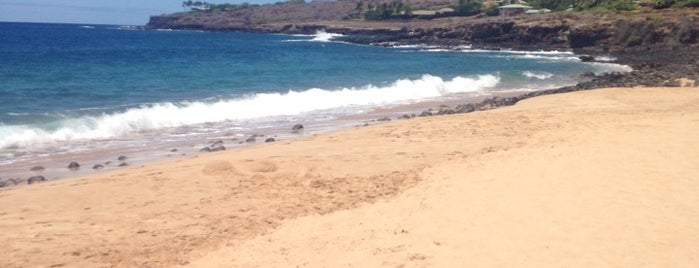 Hulopo'e Beach is one of Maui TODO.