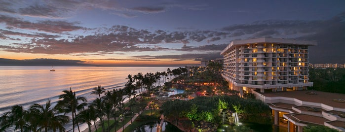 Hyatt Regency Maui Resort And Spa is one of สถานที่ที่ Kerry ถูกใจ.