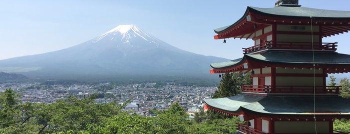 Arakura Fuji Sengen Shrine is one of Fujiyoshida 🗻.
