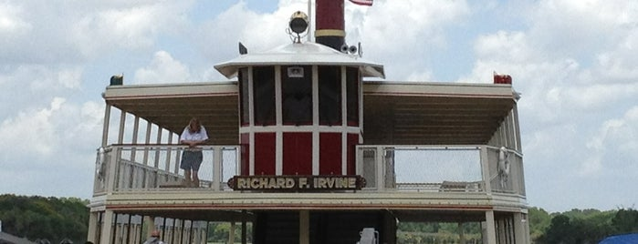 Richard F. Irvine Ferryboat is one of Transportation & Misc Disney World Venues.