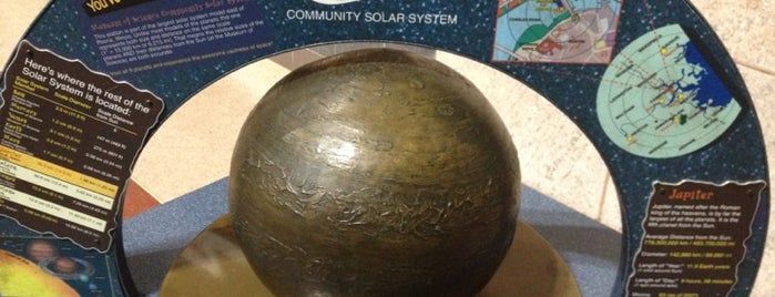 Jupiter - Museum Of Science Community Solar System is one of Museum of Science Boston Community Solar System.