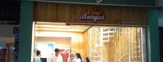 Cine Burger is one of I recommend!!!.