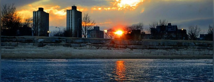 Montrose Beach is one of Chicago.