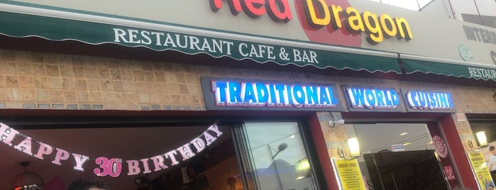 Red Dragon is one of Best Far East Restaurants In Turkey.