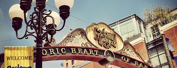 The Gaslamp Quarter is one of US Landmarks.