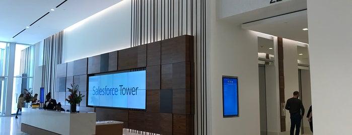 Salesforce Tower is one of Locais curtidos por Sergio M. 🇲🇽🇧🇷🇱🇷.