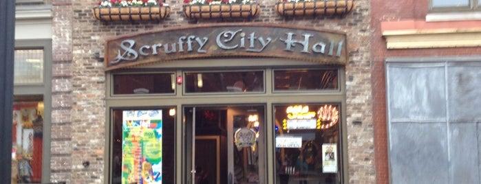 Scruffy City Hall is one of Darcy'ın Kaydettiği Mekanlar.