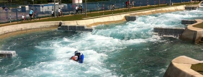 Lee Valley White Water Centre is one of London.