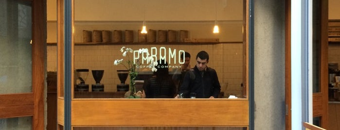 Paramo Coffee Roasters is one of Coffee Roasters in SF 2019.