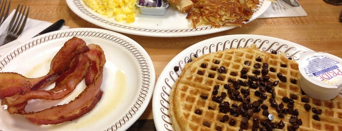 Waffle House is one of TJ's Breakfast Buddies.