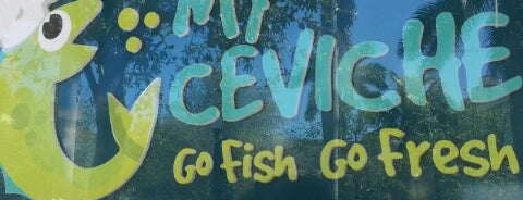 My Ceviche is one of Miami Florida - Peter's Fav's.