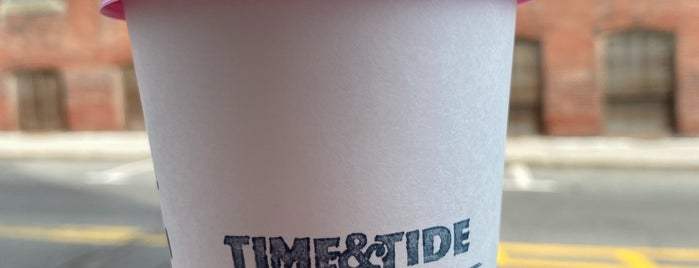 Time & Tide Coffee is one of Kennebunk.