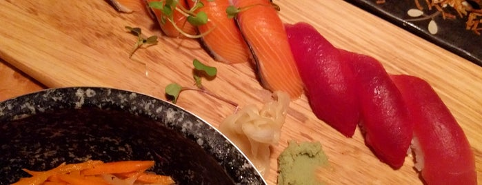 Saku Sushi is one of Toronto.