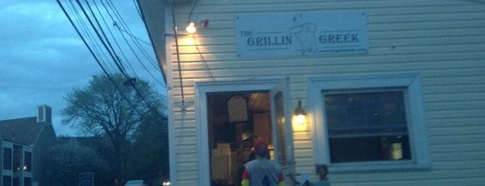 The Grillin Greek is one of Globe Cheap Eats.