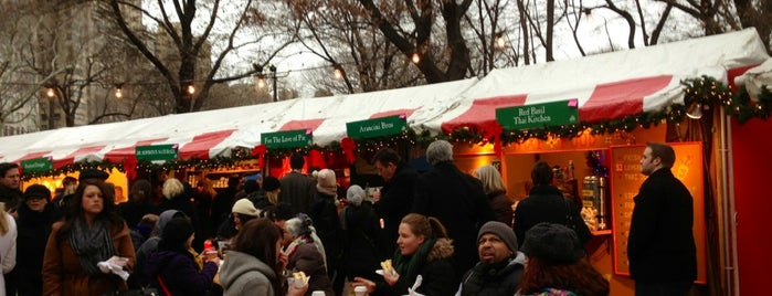 Columbus Circle Holiday Market is one of New York.