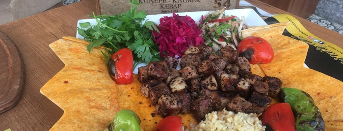 Antebim Lezzetleri Katmer Kebap is one of Semih Emreさんの保存済みスポット.