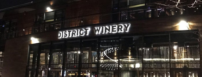 District Winery is one of Dc.