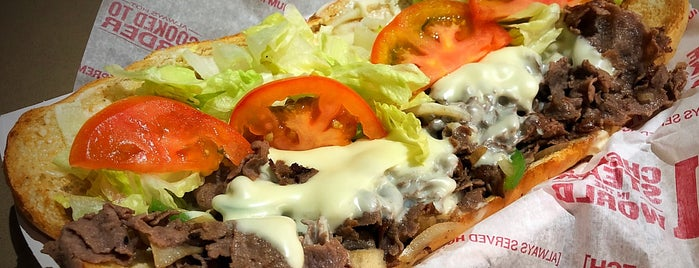 Charleys Philly Steaks is one of Tempat yang Disukai Alberto J S.