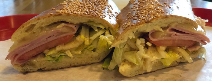 Viking's Giant Subs is one of Lugares favoritos de Brad.