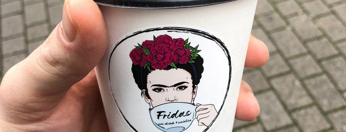 Fridas Café is one of Lugares favoritos de Dimasik 💣.