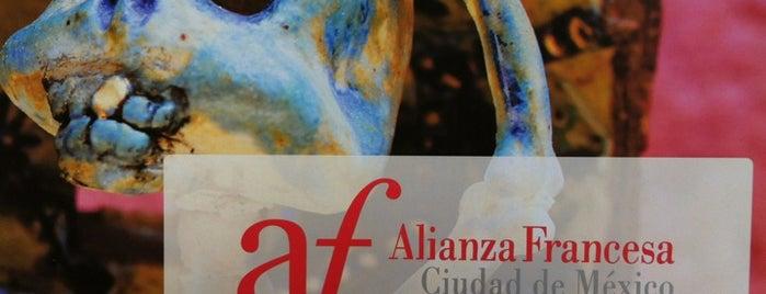 Alianza Francesa is one of Tempat yang Disukai Ursula.