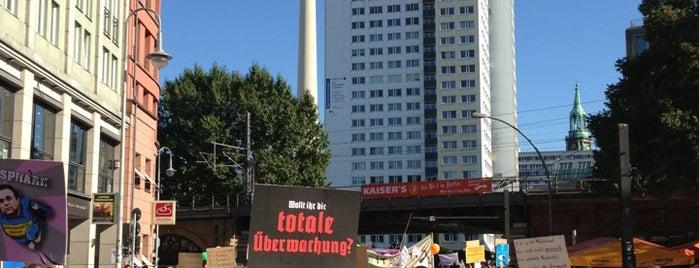 Hackescher Markt is one of Ich bin ein Berliner.