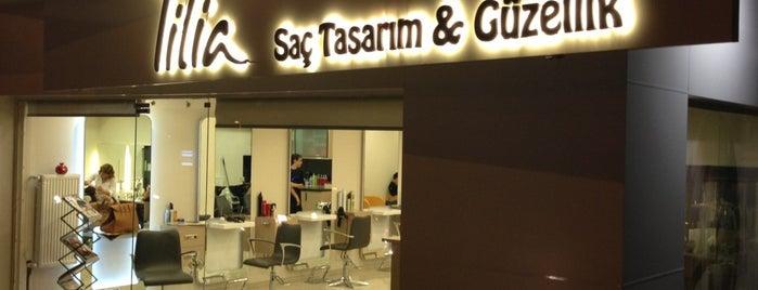 Tilia Saç Tasarım is one of Lugares favoritos de Fatih.
