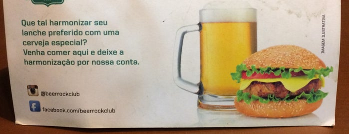Beer Rock Club is one of Preciso visitar - Loja/Bar - Cervejas de Verdade.