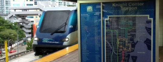 MDT Metromover - Knight Center Station is one of Miami, FL.