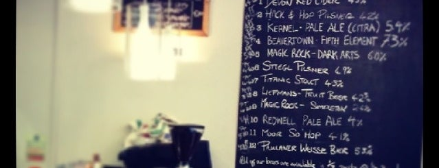 Hack & Hop is one of Craft Beer London.