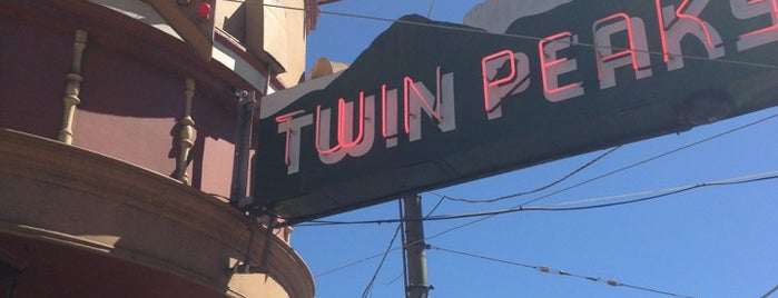 Twin Peaks Tavern is one of Northern CALIFORNIA: Vintage Signs.