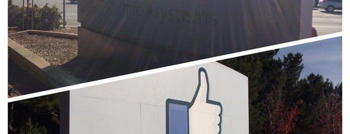 1 Hacker Way is one of Facebook.