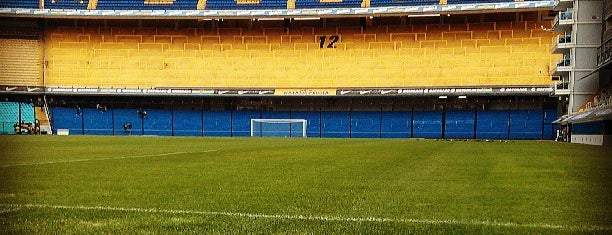 "Estadio Alberto J. Armando ""La Bombonera"" (Club Atlético Boca Juniors) is one of The Great Football Pilgrimage."