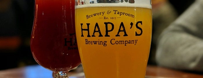 Hapa's Brewing Company is one of Yet to Visit.
