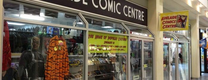 Adelaide Comics Centre is one of Michelle 님이 좋아한 장소.