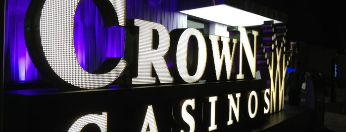 Crown Casino is one of Locais curtidos por Sergio M. 🇲🇽🇧🇷🇱🇷.
