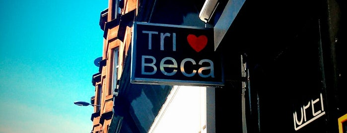 TriBeCa Cafe Bar is one of Glasgow places.