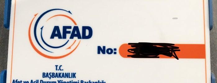 T.C. Başbakanlık AFADEM is one of Locais curtidos por 🐍.
