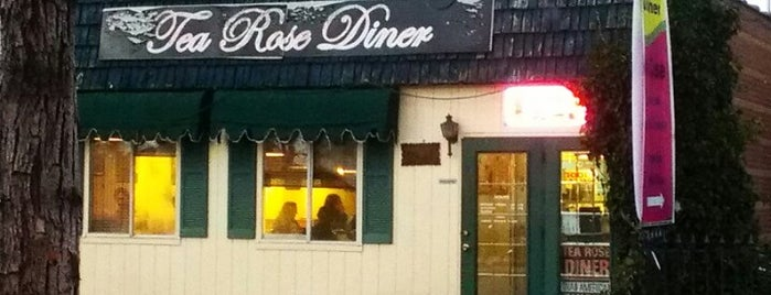 Tea Rose Diner is one of Thai food.