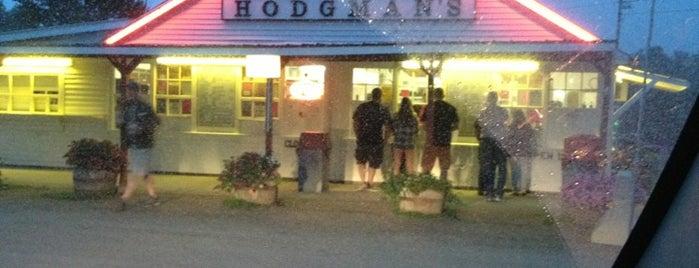 Hodgman's Frozen Custard is one of bucket list - dessert shop.
