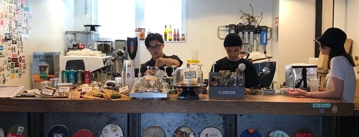 Streamer Coffee Company is one of Tempat yang Disukai Josh.