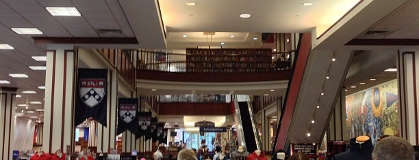 Penn Bookstore is one of Work/Study.