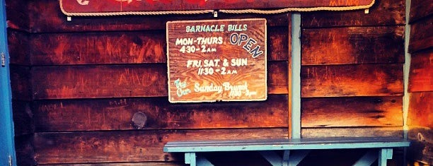 Barnacle Bill's is one of Try.